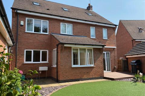 5 bedroom detached house to rent - Thruppence Close, Coventry