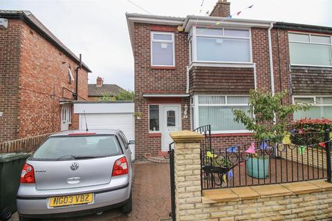 3 bedroom semi-detached house for sale - Houndelee Place, Newcastle Upon Tyne