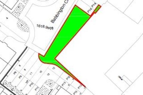 Land for sale - Babbington Close, Ilkeston, Derbyshire, DE7 5EQ