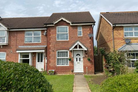 2 bedroom end of terrace house for sale - Meltham Close, Beau Manor, Northampton NN3 9QY