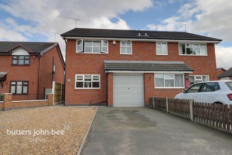 3 bedroom semi-detached house for sale - Harrow Close, Crewe