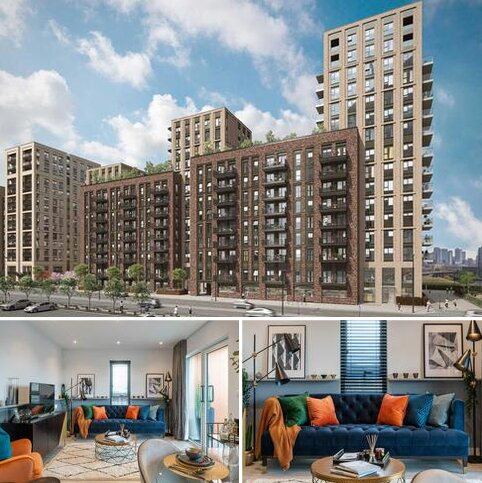 2 bedroom apartment for sale - Plot C0303, Block C - Type 27 at Brunel Street Works, Brunel Street Works, Silvertown Way, Canning Town E16