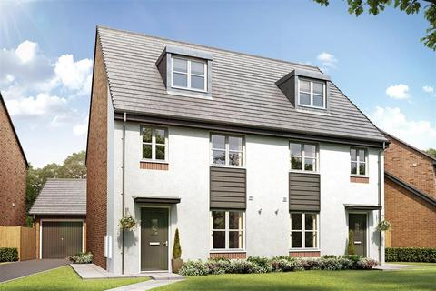 3 bedroom semi-detached house for sale - Plot 63 The Crofton at Burleyfields, Martin Drive ST16