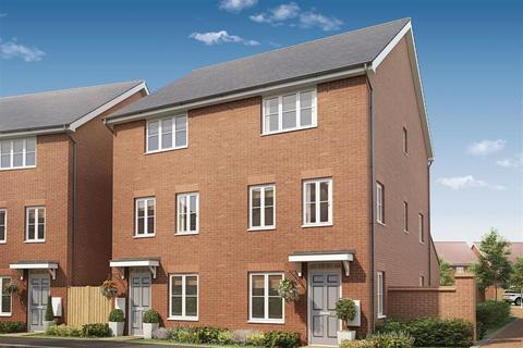 3 bedroom semi-detached house for sale - The Darby with Conservatory - Plot 459 at Loddon Park, Sandford Farm, Off Mohawk Way RG5