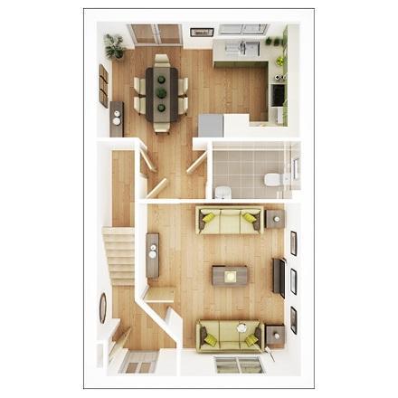 Floorplan 1 of 2: Byford Ground Floor