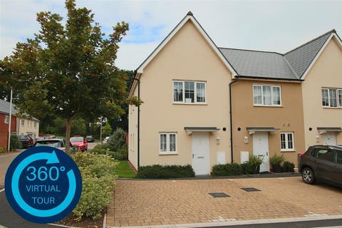 2 bedroom end of terrace house for sale - Whitaker Close, Hillside Gardens, Exeter