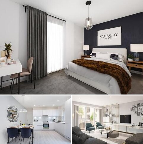 1 bedroom apartment for sale - Plot 444, Boathouse Apartments at Hendon Waterside, Meadowlark House Moorhen Drive, Hendon, LONDON NW9