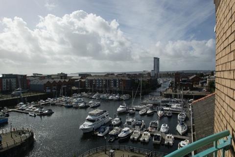 2 bedroom apartment to rent - 20 Pocketts Wharf Marina Swansea