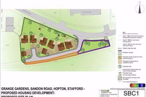 Land for sale - Sandon Road, Hopton