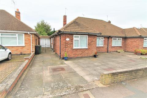 2 bedroom semi-detached bungalow for sale - Chellaston Road, Wigston, Leicester LE18