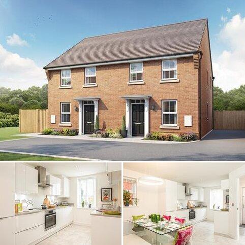 3 bedroom semi-detached house for sale - Plot 304, Ashurst at Hunters Wood, Eastern Way, Melksham, MELKSHAM SN12