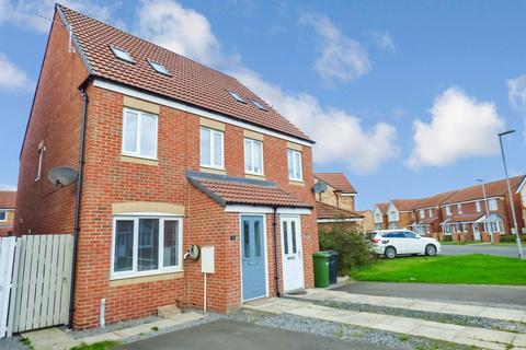3 bedroom semi-detached house for sale - Rothbury Drive, Ashington, Northumberland, NE63 8TJ