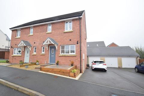 3 bedroom semi-detached house for sale - 4 Rhodfa'r Celyn, Parc Derwen, Bridgend, CF35 6FL