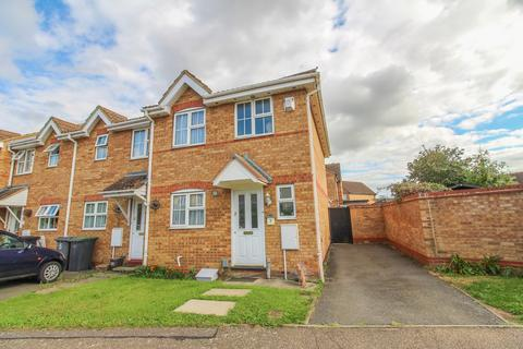 3 bedroom end of terrace house for sale - Berwick Way, Sandy, SG19
