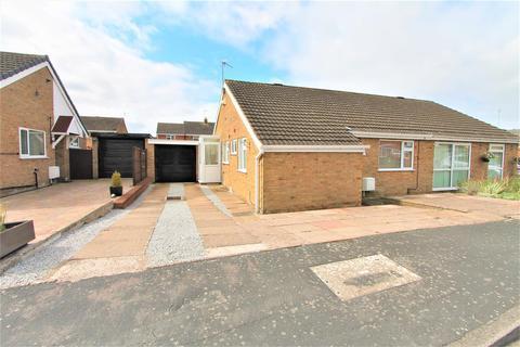2 bedroom semi-detached bungalow for sale - Netton Close, Wigston, Leicester LE18