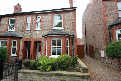 3 bedroom end of terrace house to rent - Beech Road, Hale, WA15 9HX.
