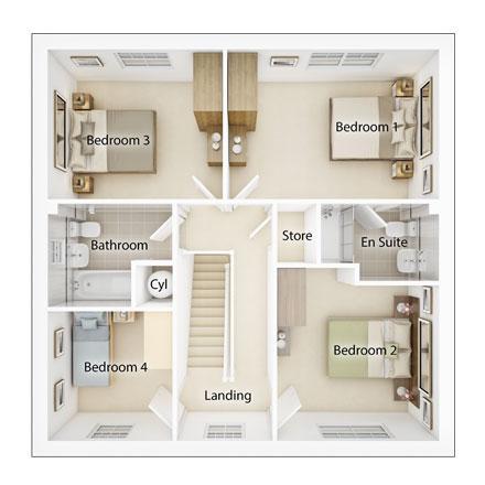 Floorplan 2 of 2: Fp2 downham
