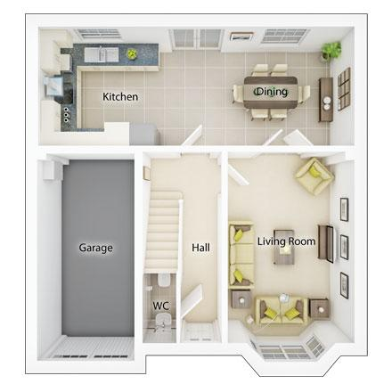 Floorplan 1 of 2: Fp1 downham