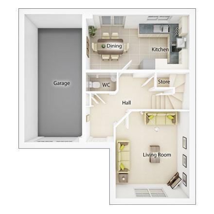 Floorplan 1 of 2: Fp1 evesham