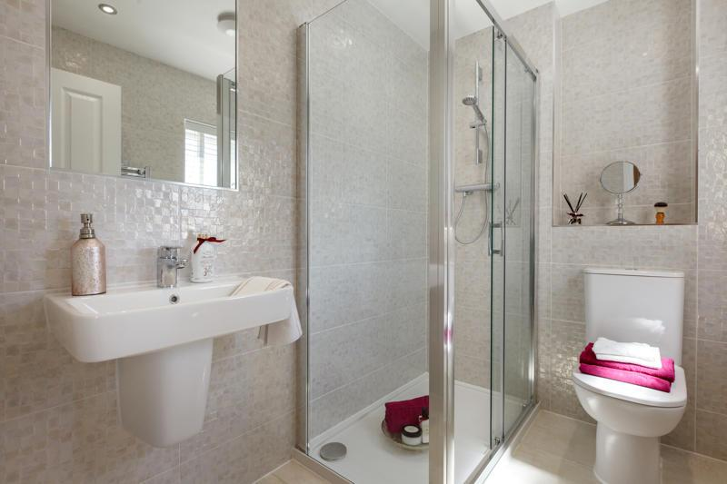 Actual Evesham Show Home at Clover View, Yorkshire