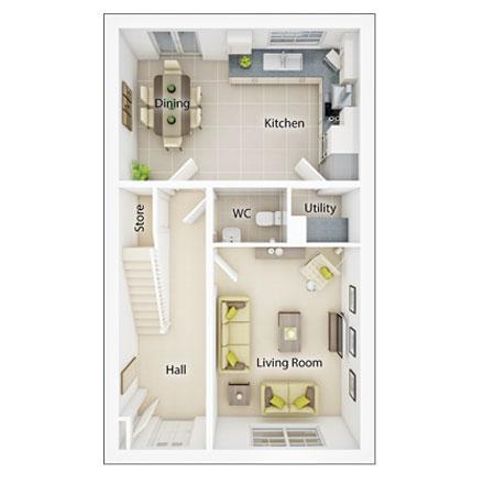 Floorplan 1 of 2: Fp1 lydford