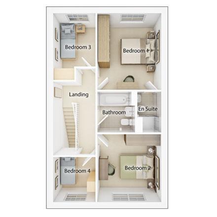 Floorplan 2 of 2: Fp2 lydford