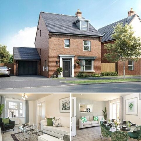 4 bedroom detached house for sale - Plot 14, Bayswater at Canal Quarter @ Kingsbrook, Burcott Lane, Aylesbury, AYLESBURY HP22
