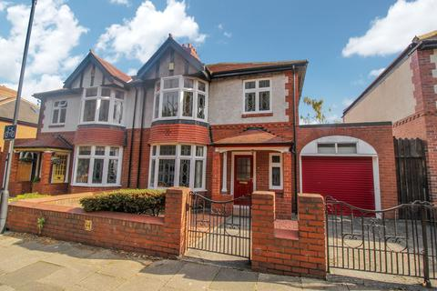 4 bedroom semi-detached house for sale - Moor Road North, Gosforth, Newcastle upon Tyne, Tyne and Wear, NE3 1AD