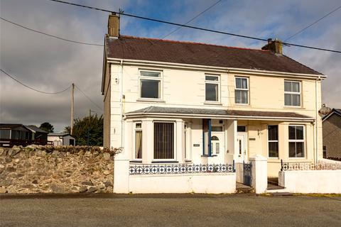 4 bedroom semi-detached house for sale - Rhes Rhythallt, Llanrug, Caernarfon, Gwynedd, LL55