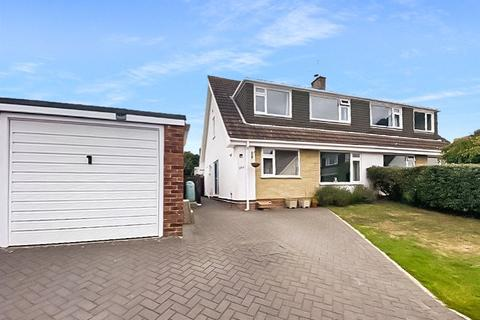 4 bedroom semi-detached house for sale - South Western Crescent, Whitecliff, Poole, Dorset, BH14