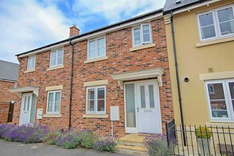 3 bedroom terraced house for sale - Huntlowe Close, Bishops Cleeve, Cheltenham, Gloucestershire, GL52