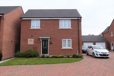 3 bedroom detached house for sale - Honeysuckle Close, Thurnby