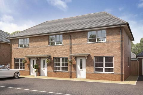 3 bedroom semi-detached house - Plot 34, Woodbury at Waddow Heights - Barratt, Waddington Road, Clitheroe, CLITHEROE BB7