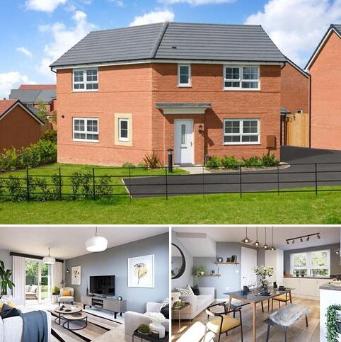 3 bedroom detached house for sale - Plot 47, ESKDALE at Wigston Meadows, Newton Lane, Wigston, WIGSTON LE18
