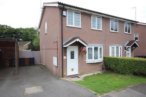 2 bedroom semi-detached house for sale - East Bank, Northampton, Northamptonshire. NN3 8YR