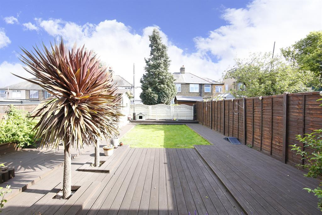 Reverse of rear garden
