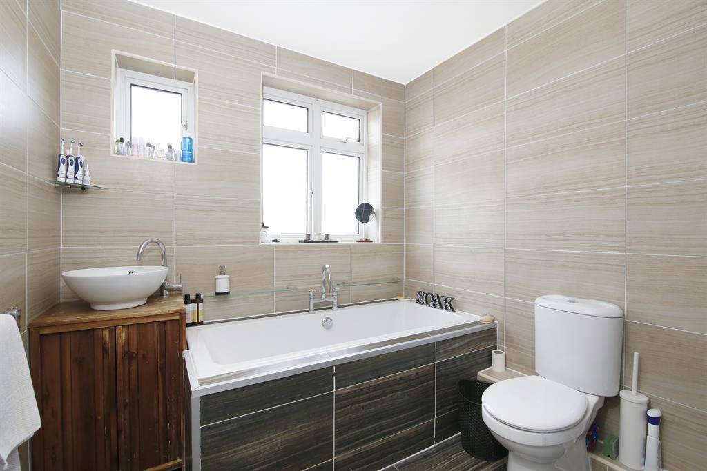 Reverse of bathroom