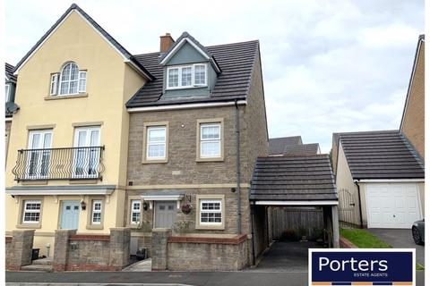 3 bedroom end of terrace house for sale - Ffordd Y Grug Parc Derwen Coity CF35 6BQ