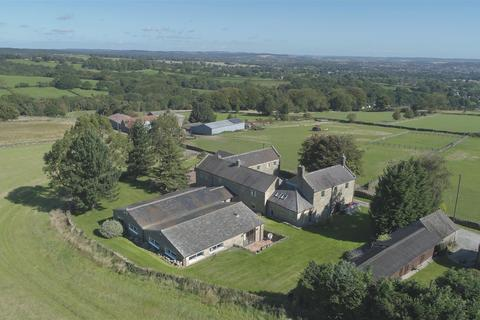 6 bedroom detached house for sale - Springwell Farm, Loads Road, Holymoorside, Chesterfield, S42 7HW