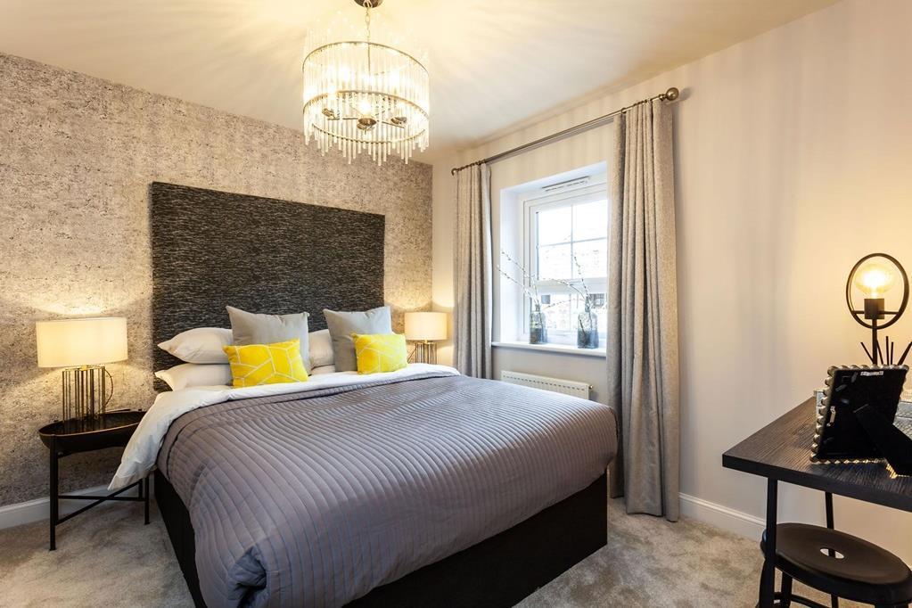 Typical Kingsley master bedroom
