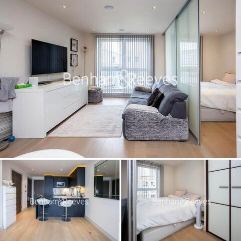 Studio to rent - Townmead road, Imperial Wharf, SW6