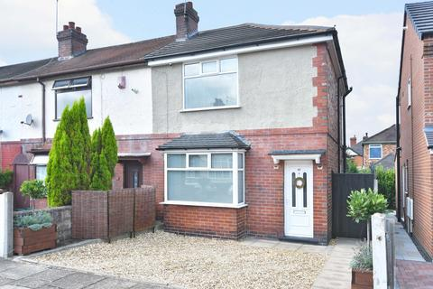 2 bedroom end of terrace house - Grice Road, Hartshill, Stoke-on-Trent