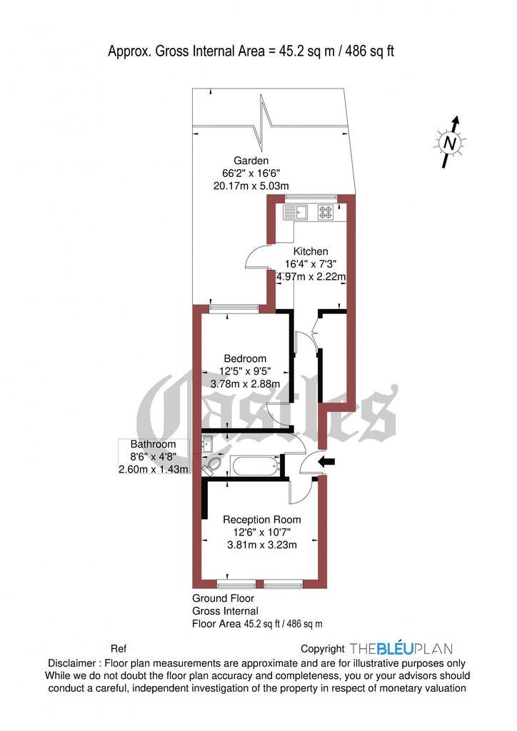Floorplan: Mount View Road N4