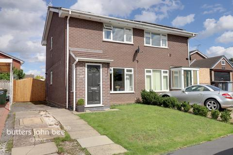 2 bedroom semi-detached house for sale - Lear Drive, Wistaston, Crewe