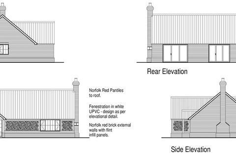 Plot for sale - Durrant Close, Whissonsett, Dereham, Norfolk, NR20
