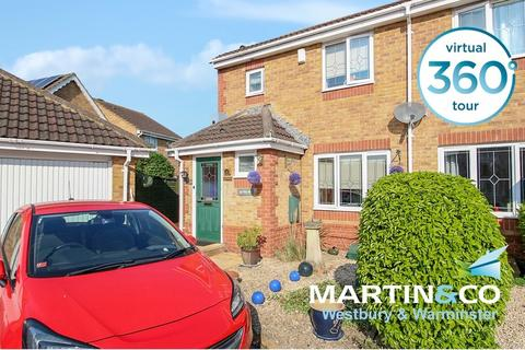 3 bedroom semi-detached house for sale - Bramble Drive, Westbury