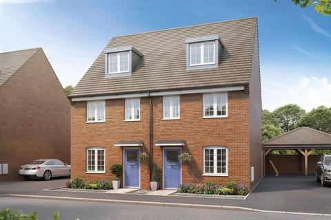 3 bedroom semi-detached house for sale - The Braxton - Plot 179 at Pathfinder Place, Newall Road, Bowerhill SN12