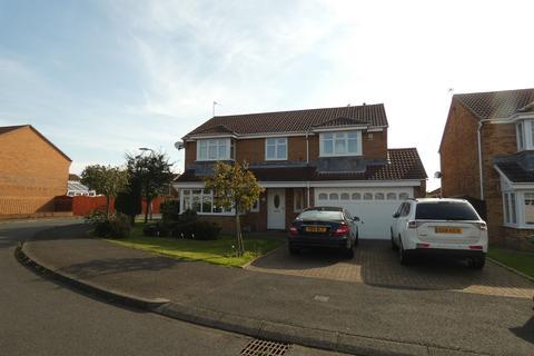 4 bedroom detached house for sale - Whittingham Close, Ashington, Northumberland, NE63 8XX