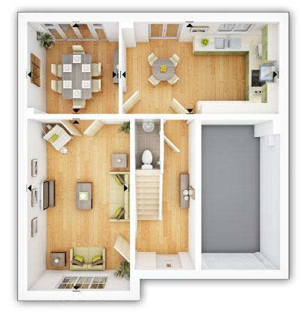 Floorplan 1 of 2: Eynsham GF