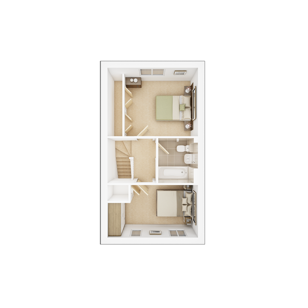 Floorplan 2 of 2: 3 DFP Mayfield Gardens Ashenford FF